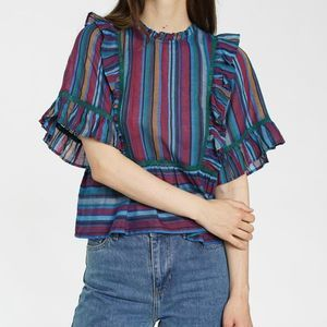ANTHROPOLOGIE dRA Tabi Women's Top Size XS